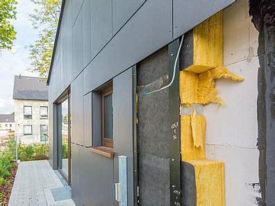 Fassadenkonstruktion  Fassade Dämmen Und Hinterlüften