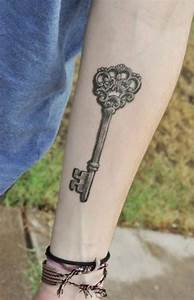 100 Mysterious Key Tattoo Designs For Your Lock