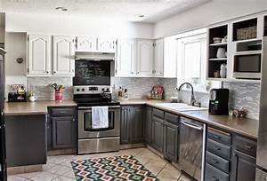 Two, Toned, Kitchen, Cabinets, As, Contemporary, Inspiration, Kitchen, Design