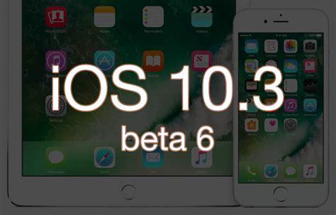 apple udostępnia ios 10 3 beta 6 thinkapple thinkapple