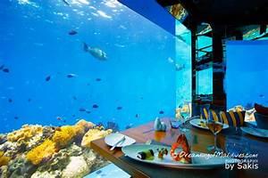 An Underwater Wine Dine Experience At Anantara Kihavah