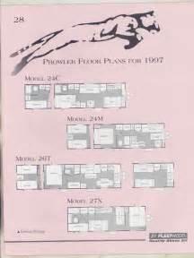1997 fleetwood prowler floor plan travel trailer brochure t5874 6j9wkf ebay