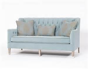sofas design gã nstig traditional sofa tufted blue three person