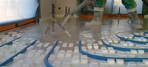 Plancher Chauffant Basse Température : installation de plancher chauffant eau application ~ Melissatoandfro.com Idées de Décoration