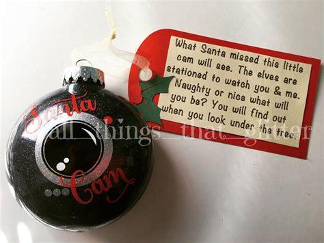 santa cam santacam ornament christmas xmas themetable