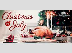 Christmas in July at Flaxton Gardens