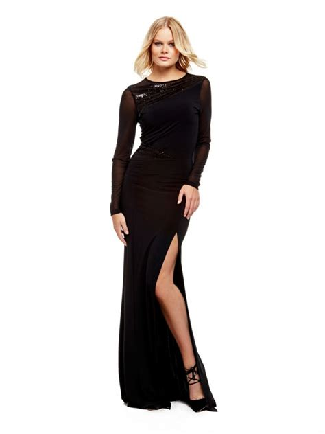 robe longue classe zara robe longue guess marciano voile transparence et