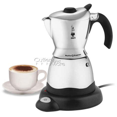 bialetti electric mukka express cappuccino maker  cup cutlery