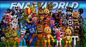 F-naf Characters Related Keywords - F-naf Characters Long ...