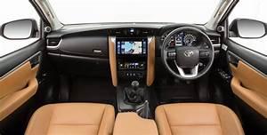 2016 Toyota Fortuner interior revealed - Photos