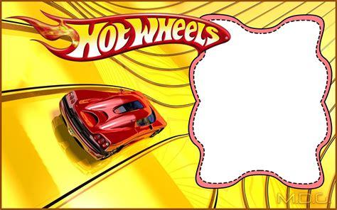 printable hot wheels invitation templates