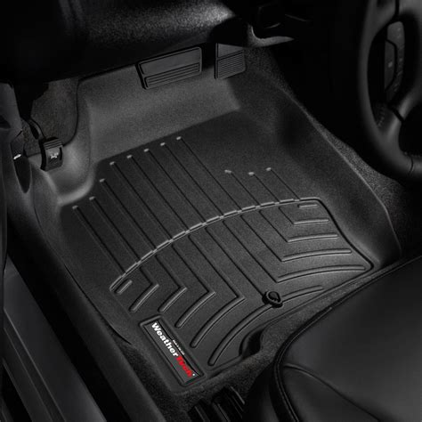 weather tech car mats weathertech 174 441241 digitalfit 1st row black molded
