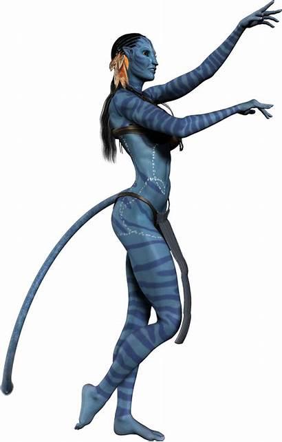 Avatar Neytiri Transparent Film