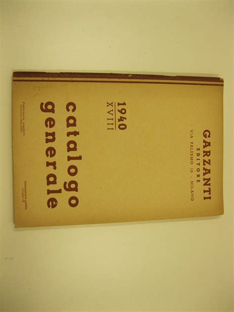 Libreria Garzanti by Garzanti Libreria Antiquaria Coenobium