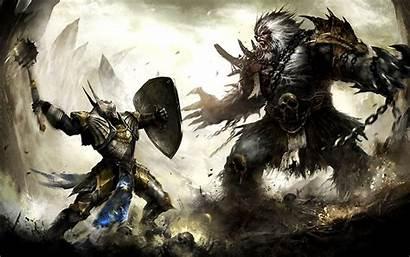 Knight Fantasy Wallpapers Knights War Resolution