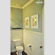 Sophia's Powder Room Makeover