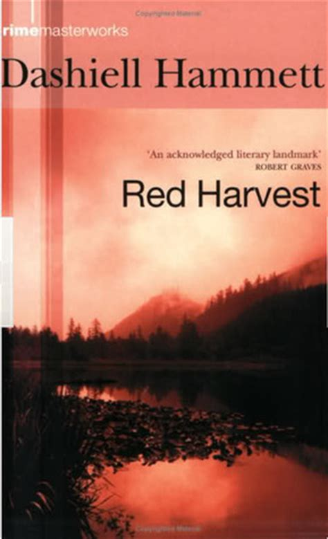red harvest  dashiell hammett reviews discussion