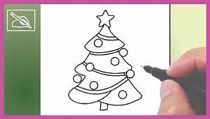 Cómo Dibujar Un Árbol De Navidad 5 Drawing a Christmas Tree 5 Dibujando YouTube
