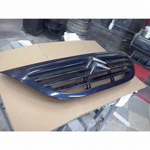 Calandre Citroen C3 : calandre citroen c3 couleur bleu metal en tres bon etat 2002 a 2008 ref 1611637680 ~ Dallasstarsshop.com Idées de Décoration