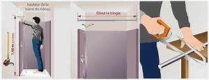 Support Douchette Sans Percer : poser un rideau de douche douche ~ Premium-room.com Idées de Décoration