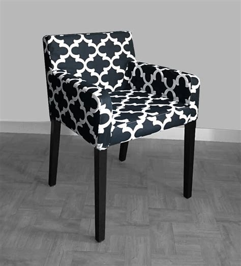 patterned ikea nils chair slip cover custom chair prints