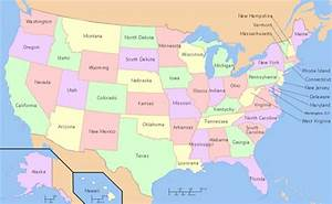 Maps United States Map With Names