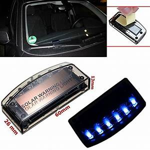 Alarmanlagen Test 2016 : auto solar alarmanlage dummy blau blinkende 6 led kabellos ~ Michelbontemps.com Haus und Dekorationen