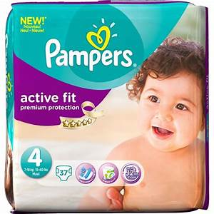 37 Couches Pampers Active Fit Taille 4 7 18 Kg Allo