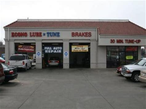 auto repair shop oil change tune  center business