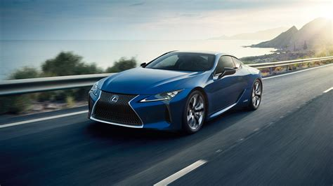 The All-new Lexus Lc Structural Blue Edition
