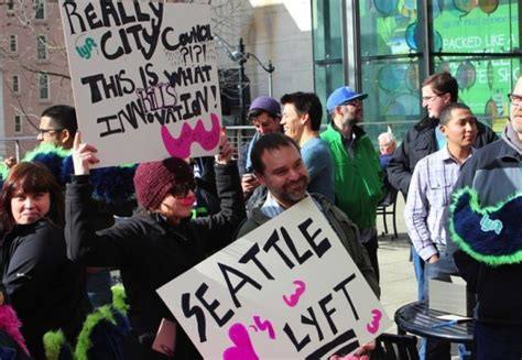 Seattle's Ride-sharing Rules Headed For City-wide Vote