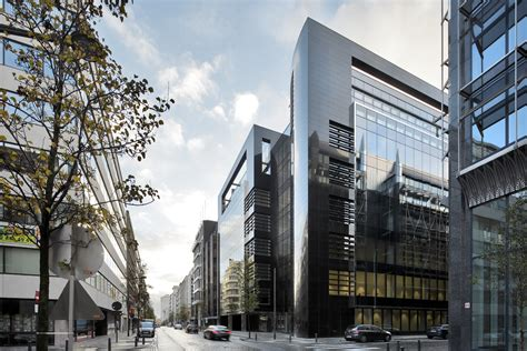 immeuble de bureaux black pearl building and build architect