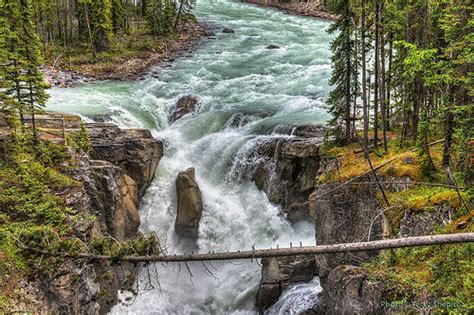 Sunwapta Falls, Alberta, Canada | You just can't beat ...