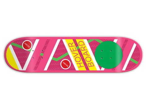 Back To The Future Hoverboard Skateboard Deck by Top Shelf Hoverboard By Leighton J Dyer Dribbble