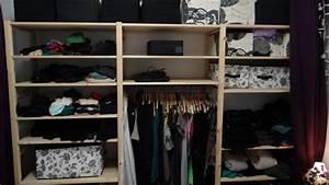 Solution Dressing Pas Cher : un dressing ikea pas cher avec ivar ~ Premium-room.com Idées de Décoration