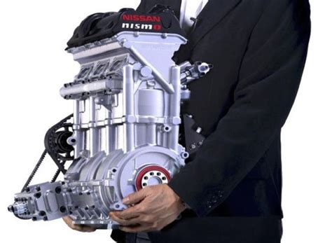 Nissan Builds An 88 Pound 3-cylinder Engine That Makes 400