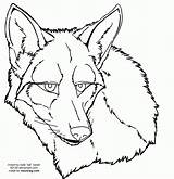 Coyote Face Lineart Drawing Drawings Coloring Head Coyotes Easy Becuo Clip Werewolf Deviantart Sketches Templates Library sketch template