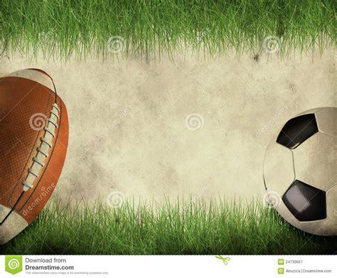 american football  soccer ball royalty  stock