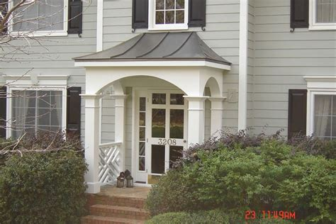 covered front porch plans front entryways with roofs exovations front porch