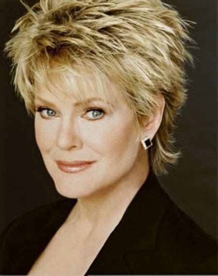 photos of short haircuts for older women short