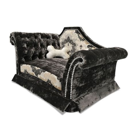 b b chaise haute chaise lounge bed in bed with human top view stock
