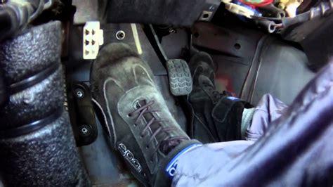Race Car Driver Heel-toe & Footwork