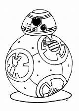 Robot Wars Star Bb8 Coloring Bb Pages Adults Coloriage Indeed Works Really Know sketch template