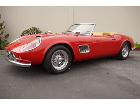 1961 250 Gt California For Sale by 1961 250 Gt California Spyder Replica Series 2 By