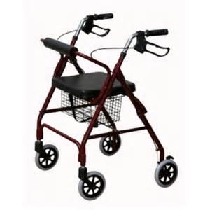 4 Wheeled Rollator Walker