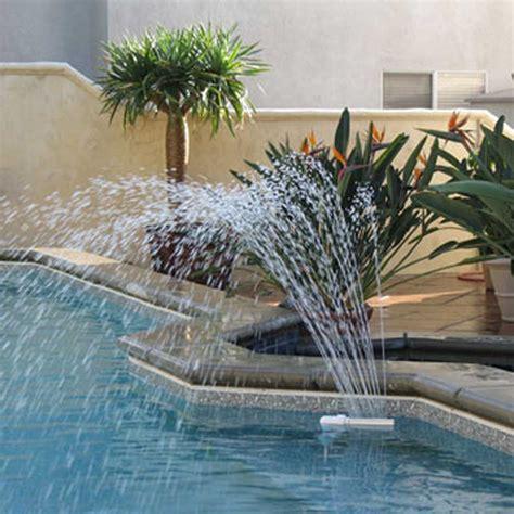 wall mounted pool fountain