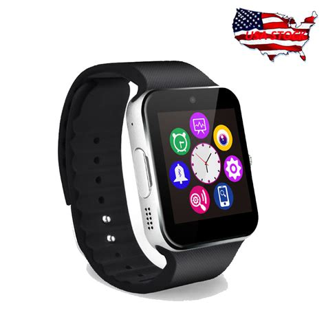 smart view iphone gt08 bluetooth smart phone mate touch screen