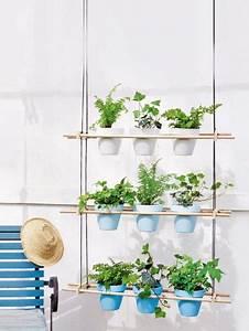 diese pflanzenideen finden auch auf dem kleinsten balkon With katzennetz balkon mit indoor vertical garden