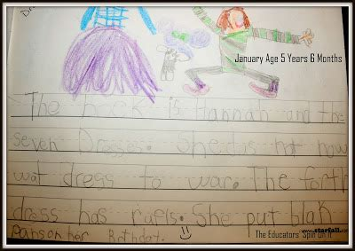 What Kindergarten Writing Looks Like  A Year Of Student Samples  The Educators' Spin On It