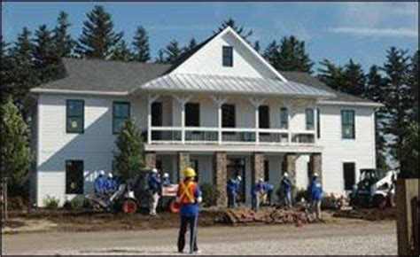 extreme makeover home nearing completion  tama county